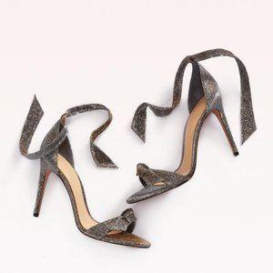 Alexandre Birman Clarita Metallic Sandals Silver